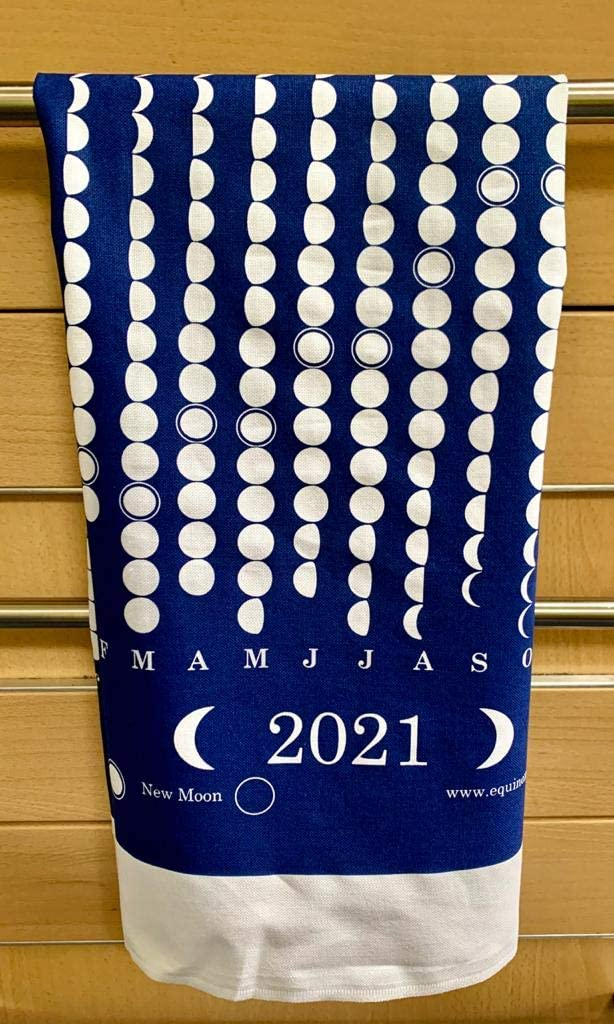 Lunar Phase Tea Towel