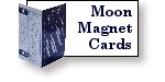 Moon Phase Fridge Magnet and Card