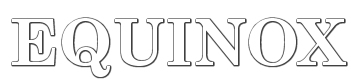 Equinox Logo Font